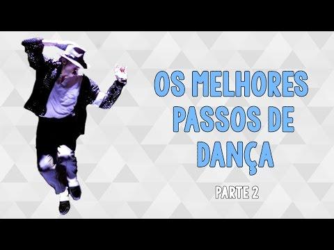 Os Melhores Passos de Dança de Michael Jackson Best Dance Moves Michael Jackson Part 2