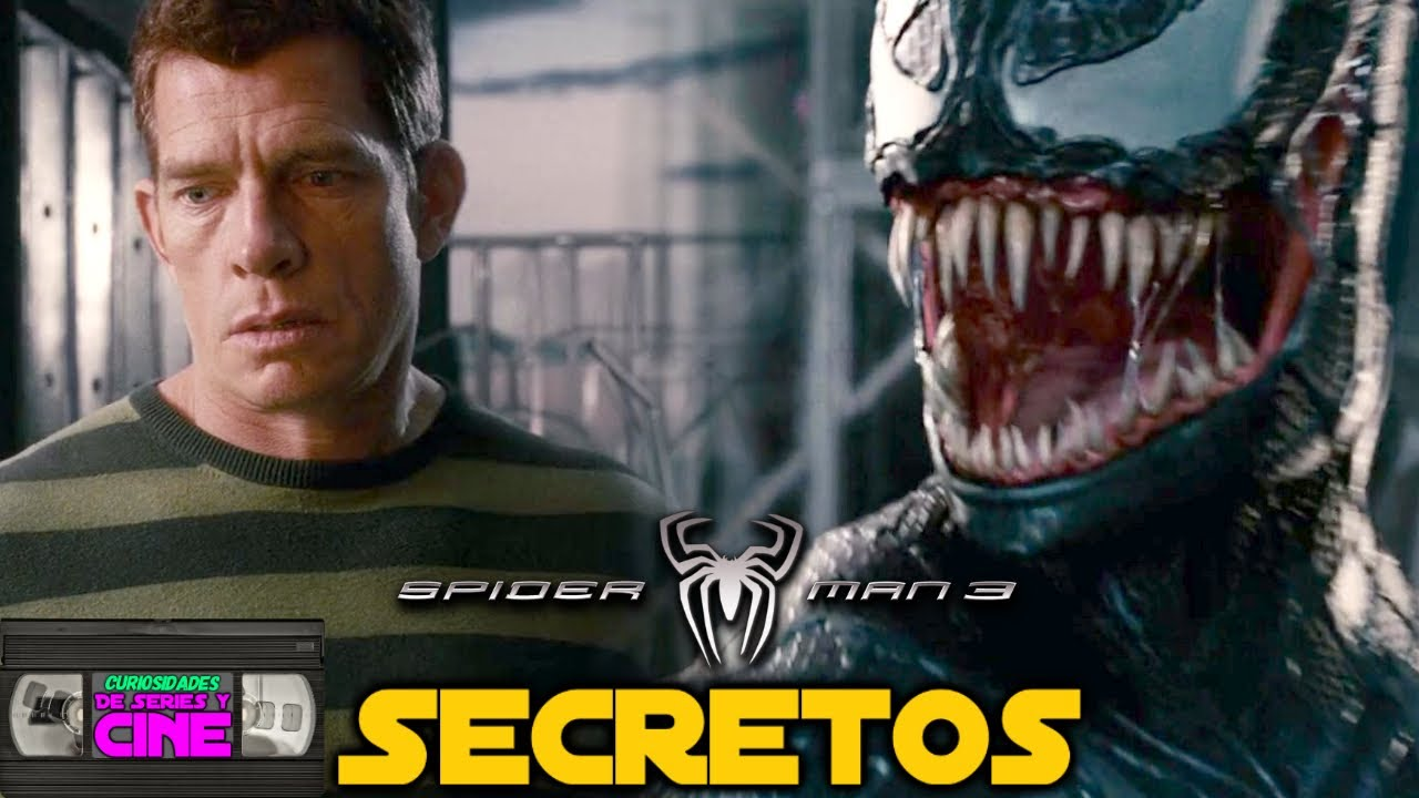 Spiderman 3 (2007) -Análisis película completa, Secretos, Easter eggs