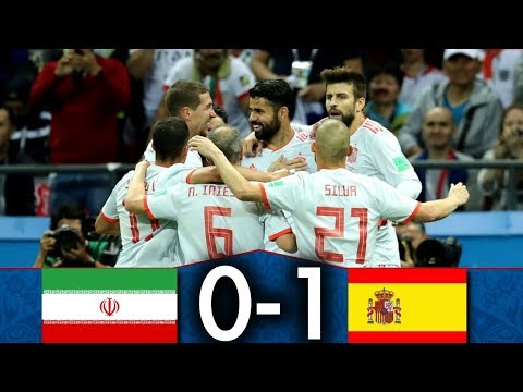 Iran 🇮🇷 vs 🇪🇸 Espagne | 0-1 | Résumé Français | CDM Groupe B | Le film du match