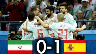 Iran 🇮🇷 vs 🇪🇸 Espagne   0-1   Résumé Français   CDM Groupe B   Le film du match