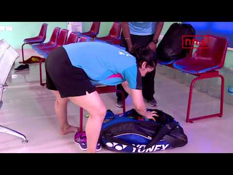 Saina Trains At The Gopichand Academy After 3 Years