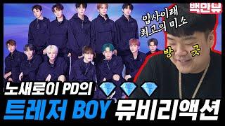 Download [ENG SUB] [속보] 노새로이PD 트레저(TREASURE) '음(MMM)' 기다리며  데뷔곡 BOY 안무영상 리액션 찍어...★ㅣTREASURE BOY REACTION