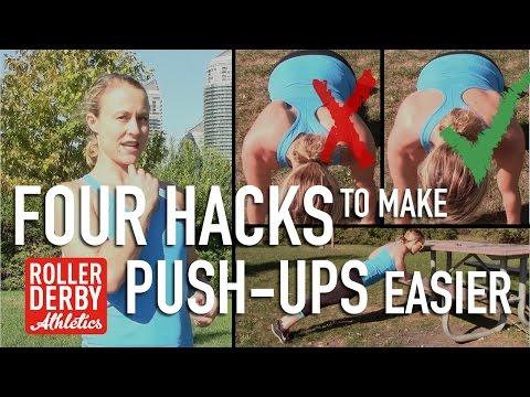 4 Hacks to Make Push-Ups Easier