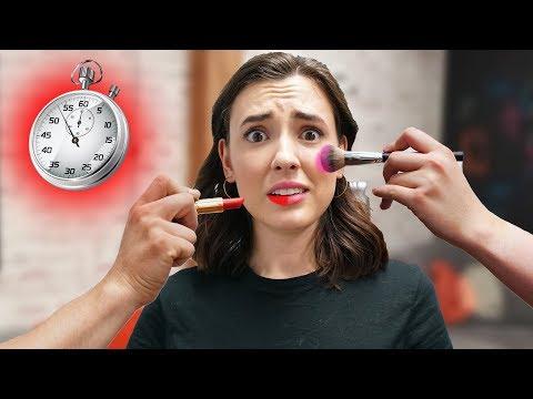 Makeup Relay Race Challenge!