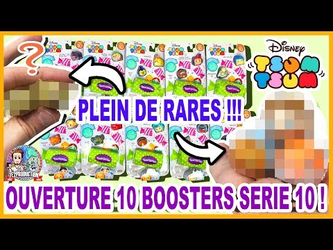 Tsum Tsum Ouverture 10 Boosters Serie 10 Record De Rares