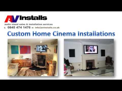Audio Visual Installations & Equipment Sales, UK - Domestic & Commercial Services