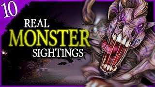 10 REAL Monsters Seen While Driving | Darkness Prevails