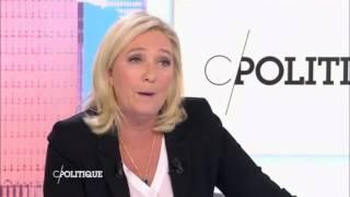 Marine Le Pen  interview du 11 octobre 2015