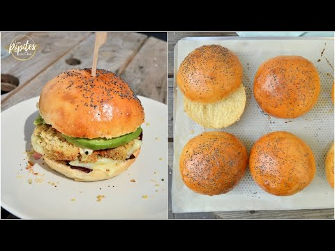 recette-pains-burger-maison-!