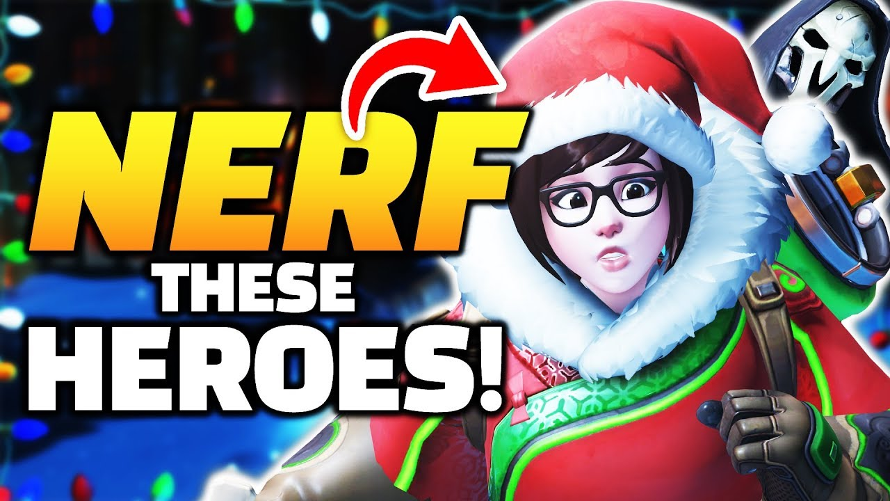 Overwatch - FREE SR?! Mei and Reaper are BROKEN! - NERFS Needed! thumbnail