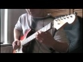 """Cover Jam - """"I Love College"""" by Asher Roth - Fender American Strat"""