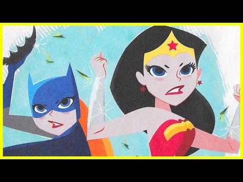 FLOWER POWER Featuring Wonder Woman and Batgirl   Kids Books