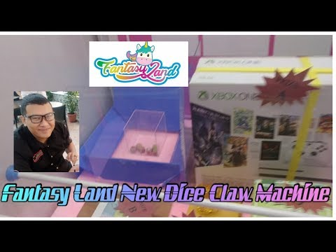 Amir Try Out Fantasy Land New Dice Claw Machine