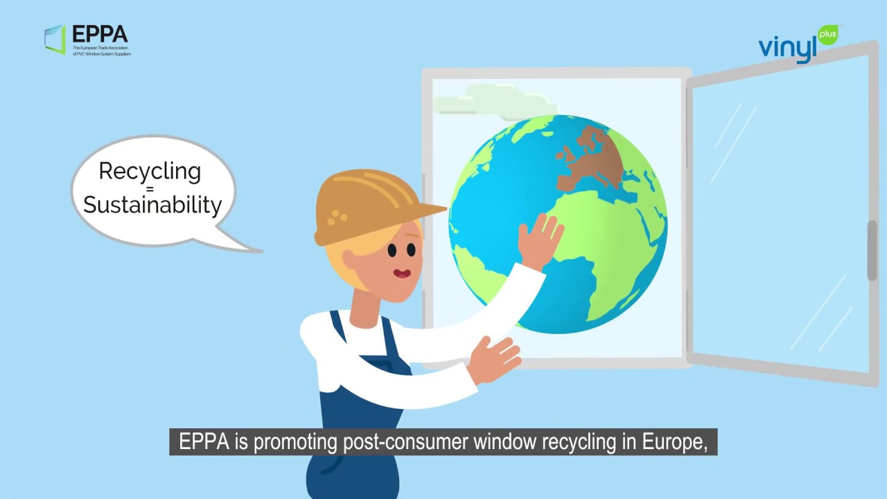 PVC Window Recycling towards a Circular Economy