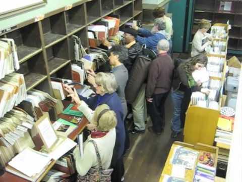 Terrance McKnight Visits Historic NYC Sheet Music Store Patelson's