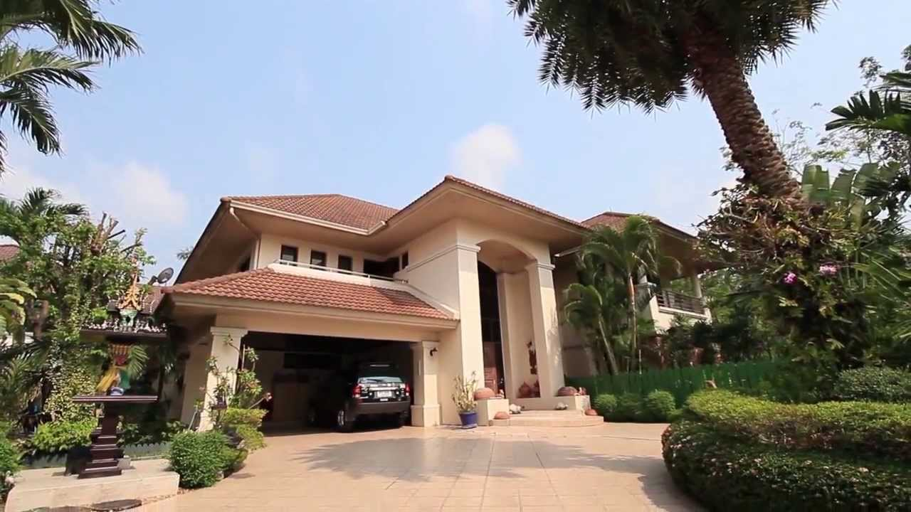 500 square meter mediterranean home near don mueang for Home design 84 square metres