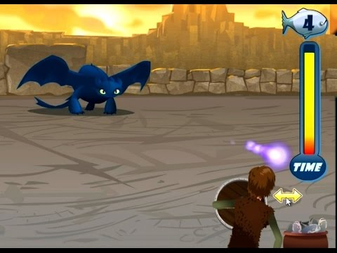 Игра Как приручить дракона Поиски алфавита онлайн How to
