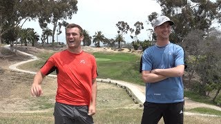 Seppo Paju and Kevin Jones Practice Round - The Challenge at Goat Hill