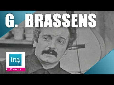 "Georges Brassens ""Le vin"" 