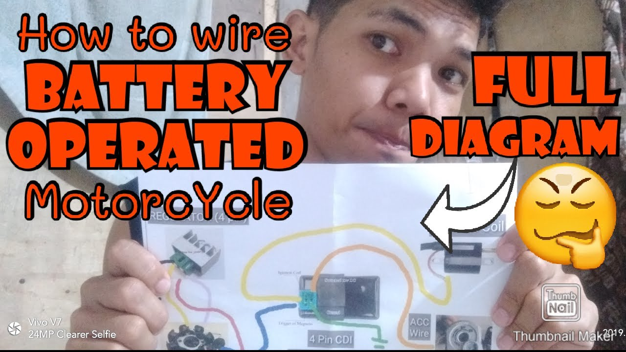 How To Wire Battery Operated Engine Motorcycle