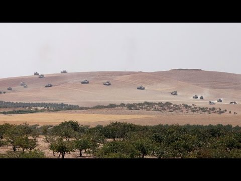 Part 1: Vijay Prashad: Turkey's Offensive Against ISIS & Press Crackdown is Really Just War on Kurds