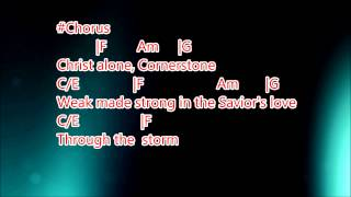 Cornerstone backing track w/Lead guitar