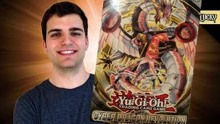 Best Yugioh Cyber Dragon Revolution Structure Deck Opening and Review! Epic!!!