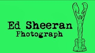 Ed Sheeran - Photograph [Legendado/Lyric]