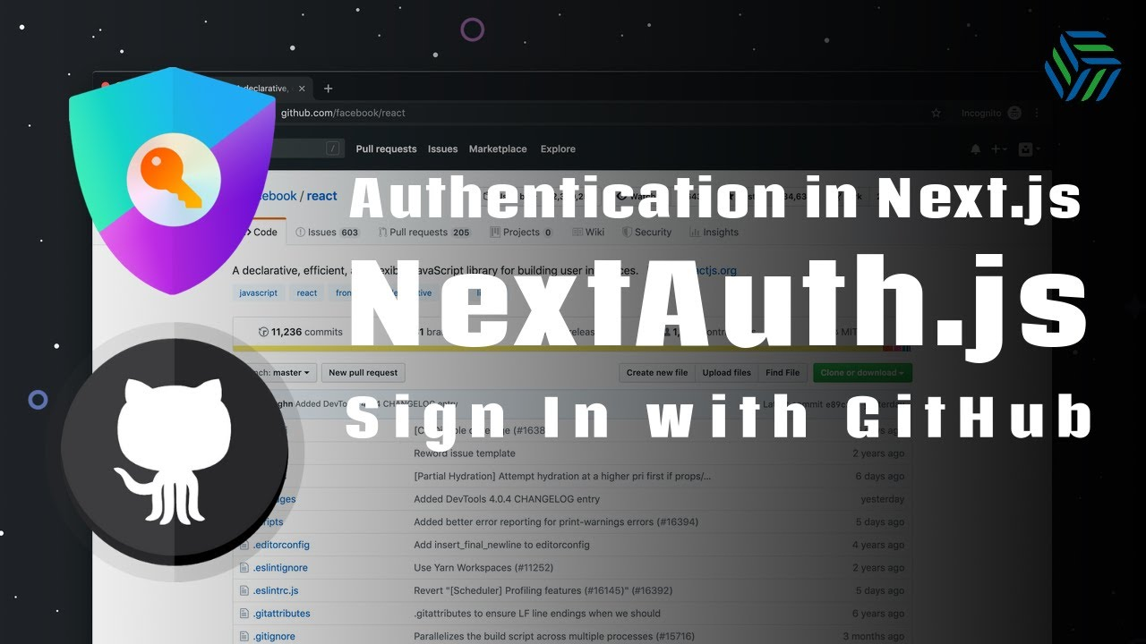 NextAuth.js | Quick and easy GitHub Sign-in button for Next.js apps