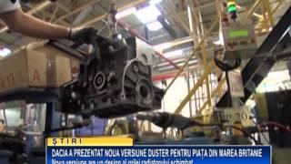 Dacia a prezentat noua versiune Duster