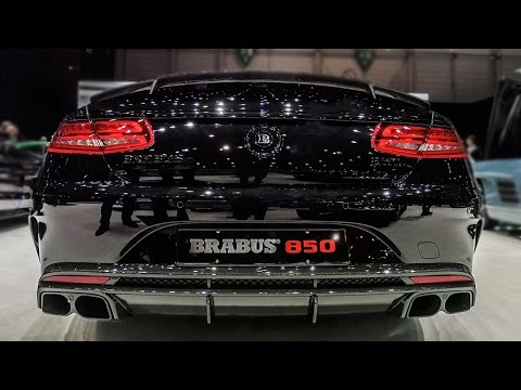 BRABUS 850 6.0 V8 BiTurbo S63 AMG Convertible - 2017 Geneva Motor Show
