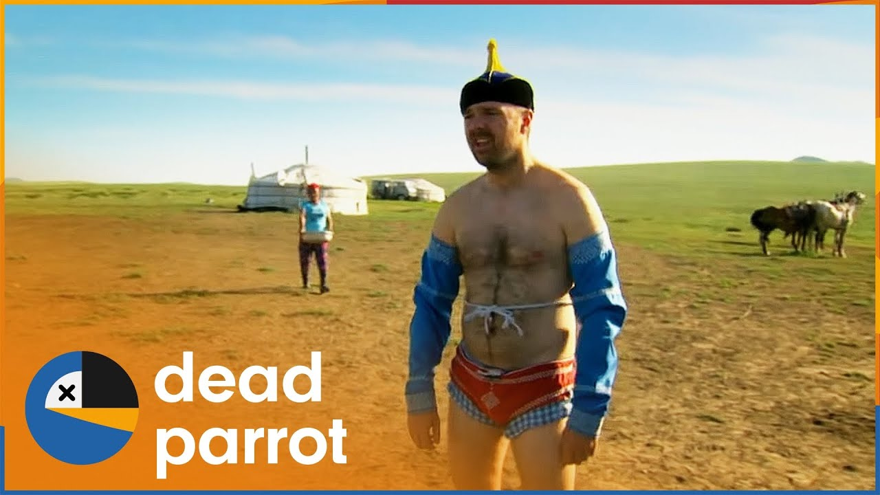 Download Karl Is Forced to Fight Mongolian Wrestlers | An Idiot Abroad S2 EP2 | Dead Parrot