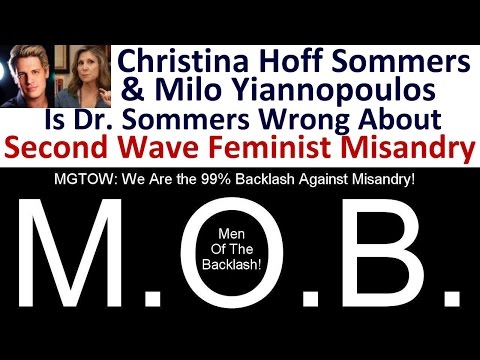 Is Christina Hoff Sommers Wrong About Second Wave Feminist   Misandry?