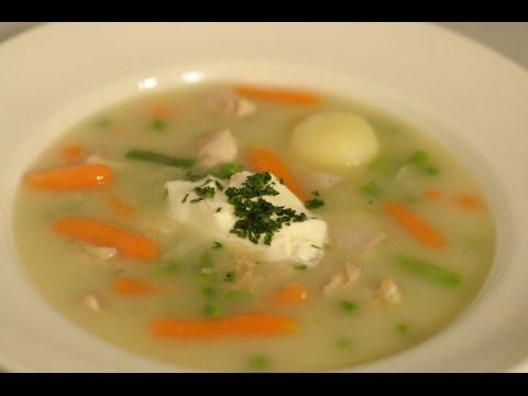 Gusta pileća juha - Fini Recepti by Crochef
