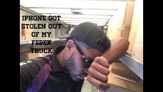 iPhone Got Stolen Out Of My Fedex Truck!