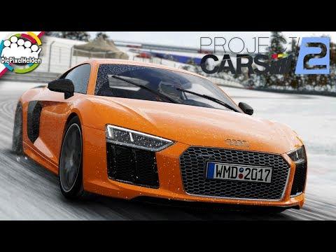 PROJECT CARS 2 - Audi R8 V10 plus @ Nordschleife (Winter) - Let