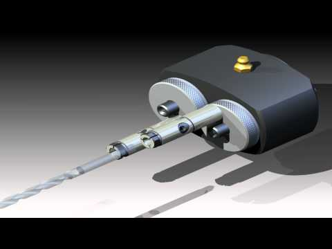 Autodesk Inventor Studio Animation - 3D CAD Automation Gears / Drilling 18.12.2011