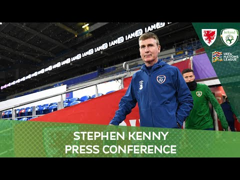 PRESS CONFERENCE | Ireland manager Stephen Kenny on UEFA Nations League against Wales