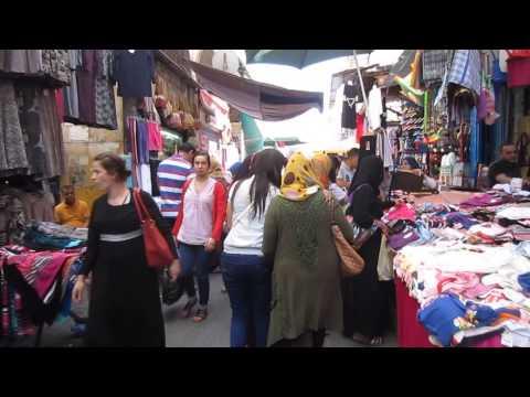 Algeria | Street Scenes in the Algiers' historic Casbah | Video  #2