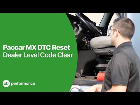 Paccar MX Engine Reset Engine Fault Codes No Dealer Davie4