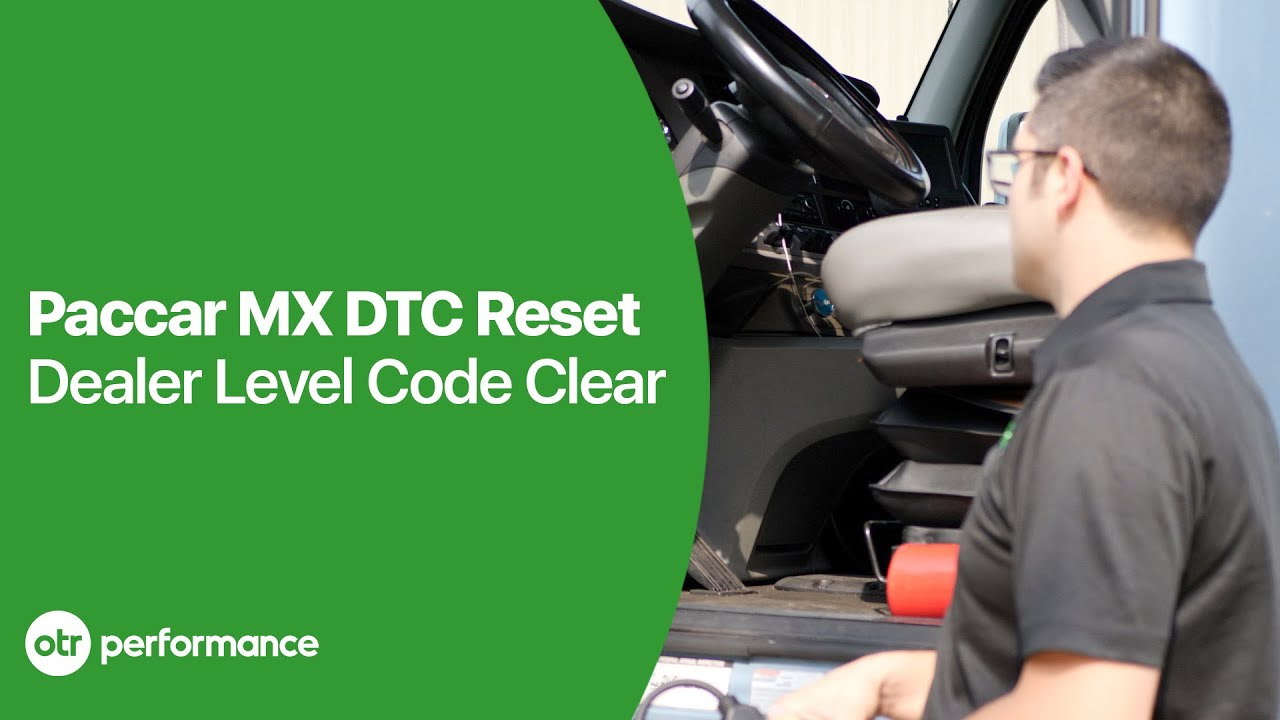 Paccar MX Engine Reset Engine Fault Codes | No Dealer Davie4 Software  Required | OTR Performance