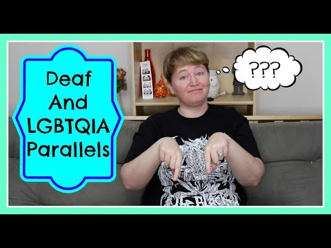 Hearing dating deaf person
