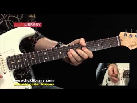 'Cause We've Ended As Lovers Performance | Jeff Beck Guitar Lessons Michael Casswell Licklibrary