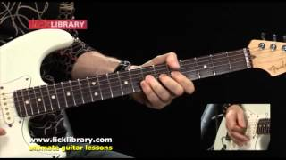 Скачать Cause We Ve Ended As Lovers Performance Jeff Beck Guitar Lessons Michael Casswell Licklibrary