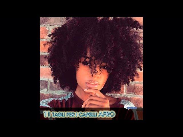 Tagli per le donne con i capelli afro
