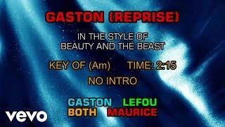 Ensemble - Beauty and the Beast - Gaston (Reprise) (Karaoke)