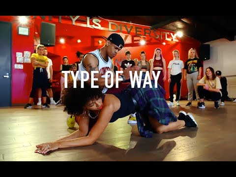 Eric Bellinger Feat. Chris Brown -  Type Of Way  | Phil Wright Choreography | Ig: @phil_wright_