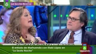 Así fue el cabreo de Paco Marhuenda con Iñaki López, en 'laSexta Noche'