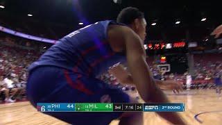 3rd Quarter, One Box Video: Milwaukee Bucks vs. Philadelphia 76ers