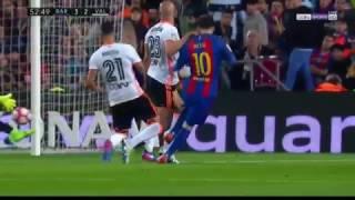 Barcelona vs Valencia 4-2 - Highlights & Goals - La Liga 2017